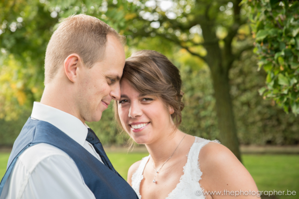 Huwelijksfotograaf voor Dorien en Matthew