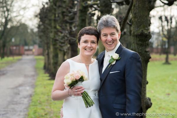 Huwelijksfotograaf voor Kristien en Alain