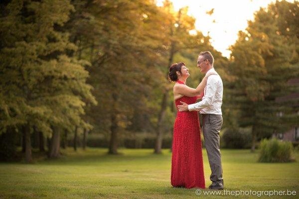 Huwelijksfotograaf voor Hilde en Luc