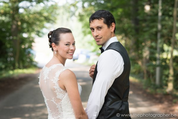 Huwelijksfotograaf voor L en G