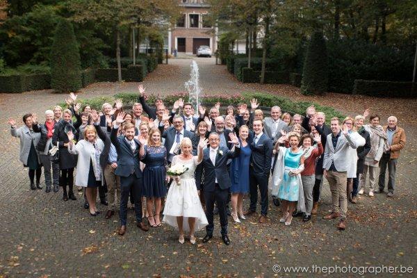 Huwelijksfotograaf voor Erik en Livia