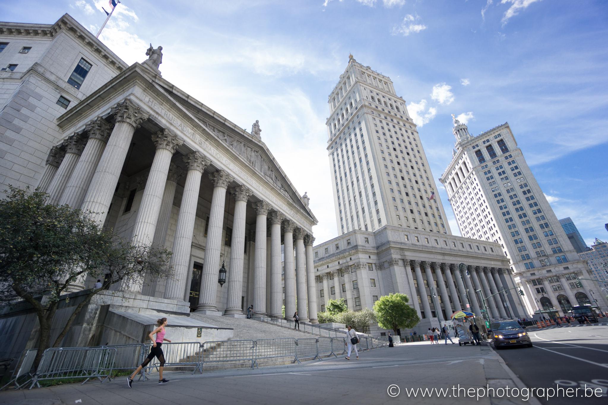 Belangrijke Gebouwen New York.Het Prachtige County Supreme Court In New York The Photographer