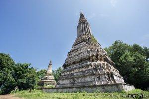 Een oude en vergeten tempel in Cambodja